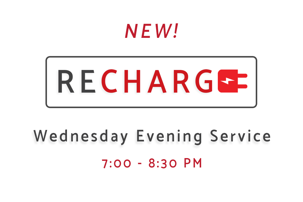 New Wednesday Evening Service