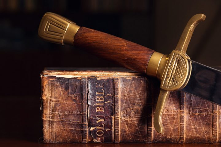 Sword and Bible - Standing in Battle Sermon Series