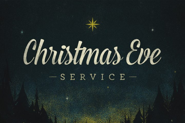Annual Christmas Eve Service Graphic