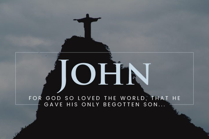 The Gospel of John Sermon Series Graphic