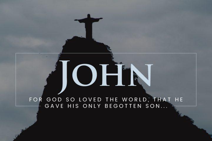 The Gospel of John Sermon Series Graphic